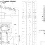 Litfassstraße - Ausschnitt aus dem Bewehrungsplan für die Bodenplatte