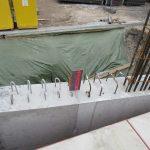 Litfassstraße - Kelleraußenwand - Fugenband zwischen zwei Betonierabschnitten
