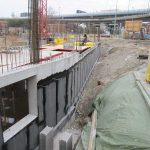 Litfassstraße - Kelleraußenwand - Anschlussbewehrung für Stützen und Wände im EG