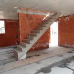 Marchegg - Doppelhaus - Treppe im EG