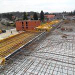 Marchegg - Wohnhaus - Verlegung der Bewehrung Decke über OG