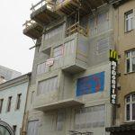 Favoritenstraße - Straßenansicht des Rohbaus