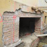 Umbau im Bestand - Auswechslung für eine neue Türöffnung