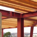 Dachgeschoßausbau - Neue Dachkonstruktion - Kopfplattenstoß
