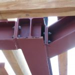 Dachgeschoßausbau - Stahlbauknoten