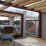 Dachgeschoßausbau - Neue Dachkonstruktion und Herstellung von Fassadenelementen