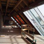 Dachgeschoßausbau - Neue Dachkonstruktion mit Schrägverglasung