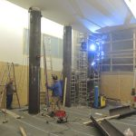 Umbau im Bestand - Ertüchtigung von bestehenden Säulen mit Stahlummantelung