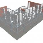 Dachgeschoßausbau - Stahlbauplan