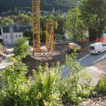 Hinterbrühl - Zufahrt zur Baustelle