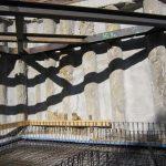 Hinterbrühl - Bewehrung einer Bodenplatte - Aussteifung der Bohrpfahlwand