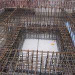 Hinterbrühl - Bewehrung Bodenplatte und Aufzugschachtgrube